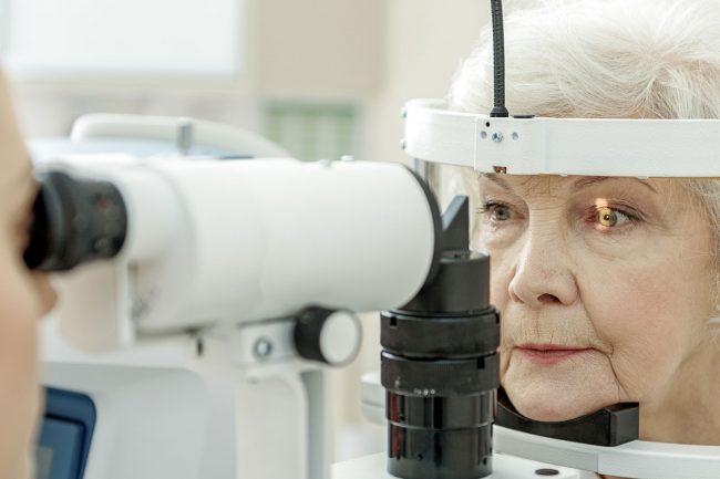 Female Eye Test